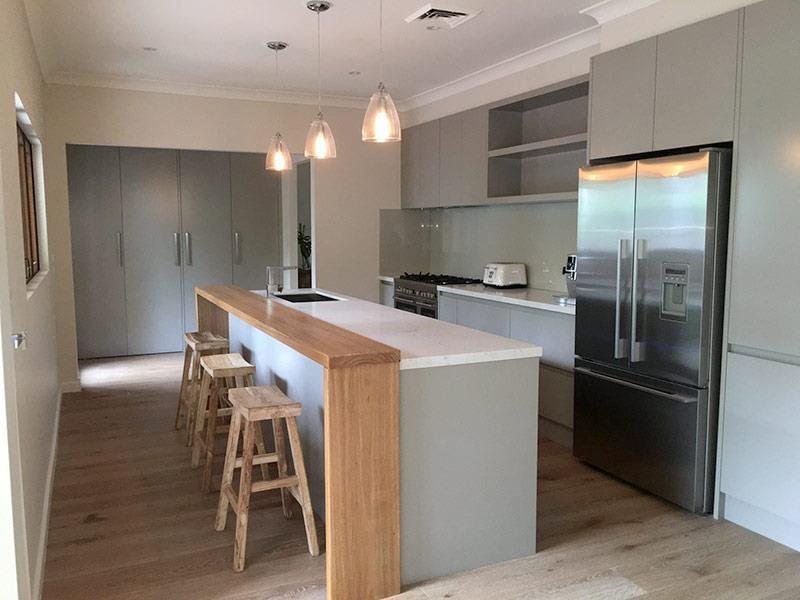 Highland Kitchens - You have to love the Contemporary styled timber servery