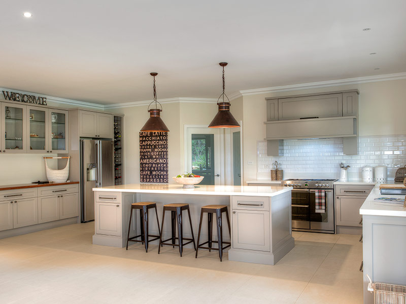 Highland Kitchens - Hampton down to the finest detail.