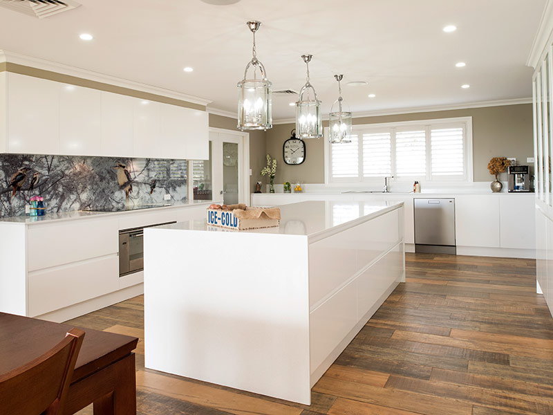 Highland Kitchens - Contemporary kitchen with chutzpah