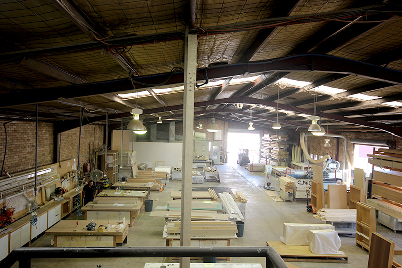 Highland Kitchens - Purpose buily factory